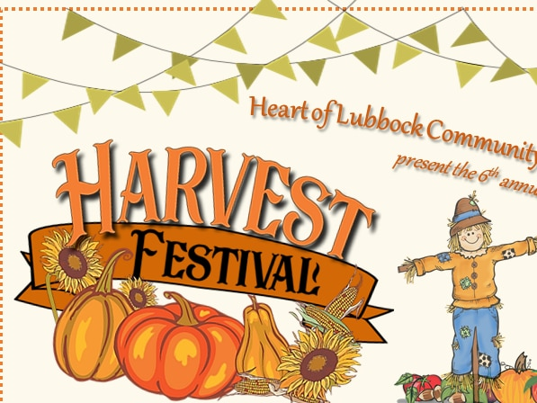 Heart of Lubbock Community Garden's Fall Harvest Festival, Oct. 26