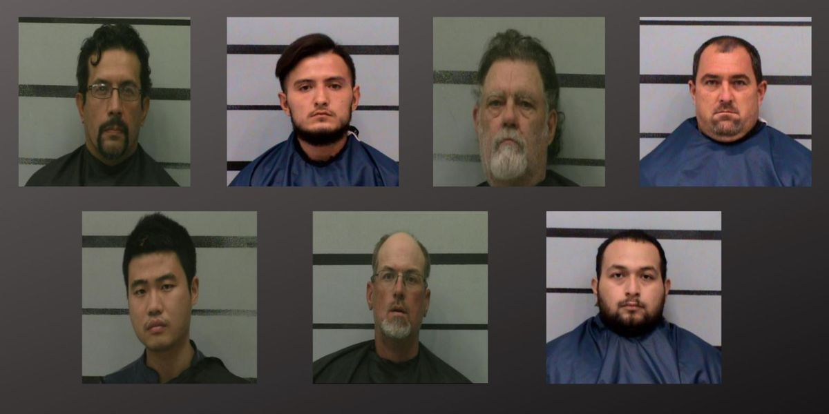 7 arrested during Lubbock prostitution operation