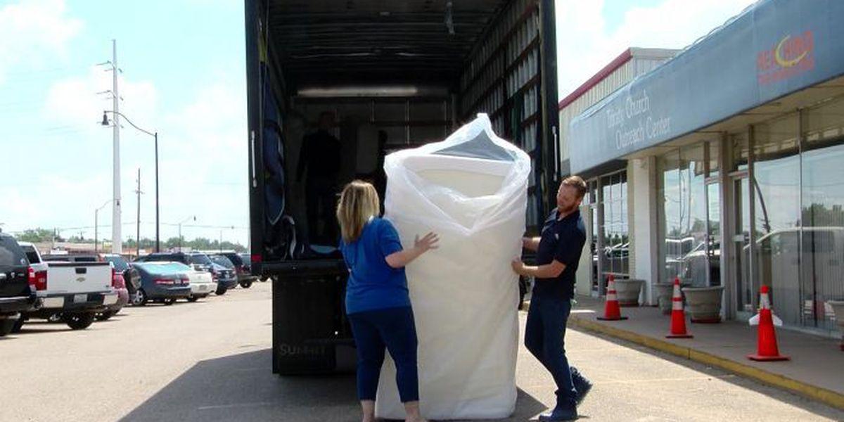 Ashley Furniture donates mattresses to Trinity Outreach