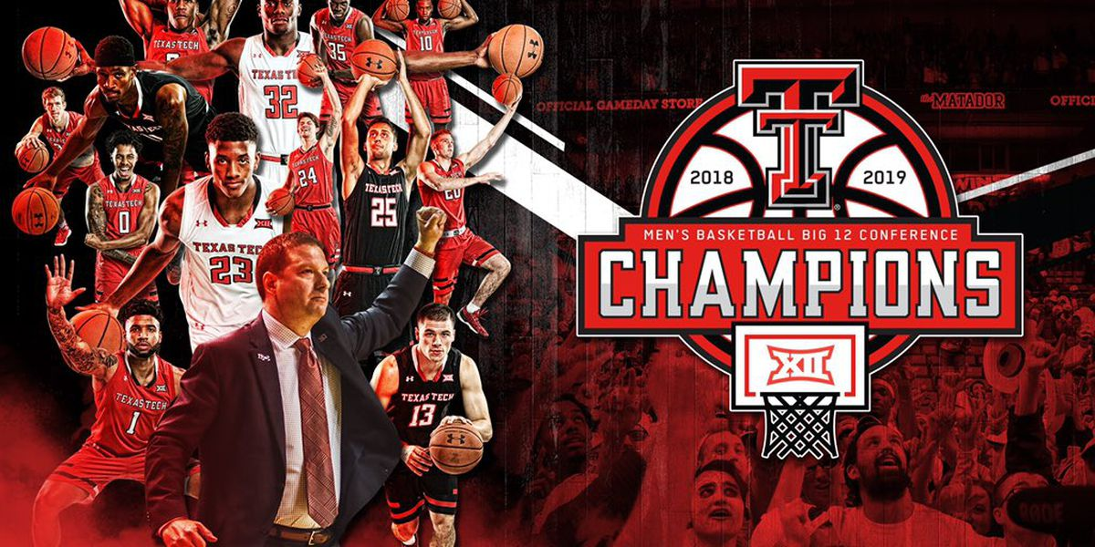 Big 12 Conference Champion Red Raiders return home
