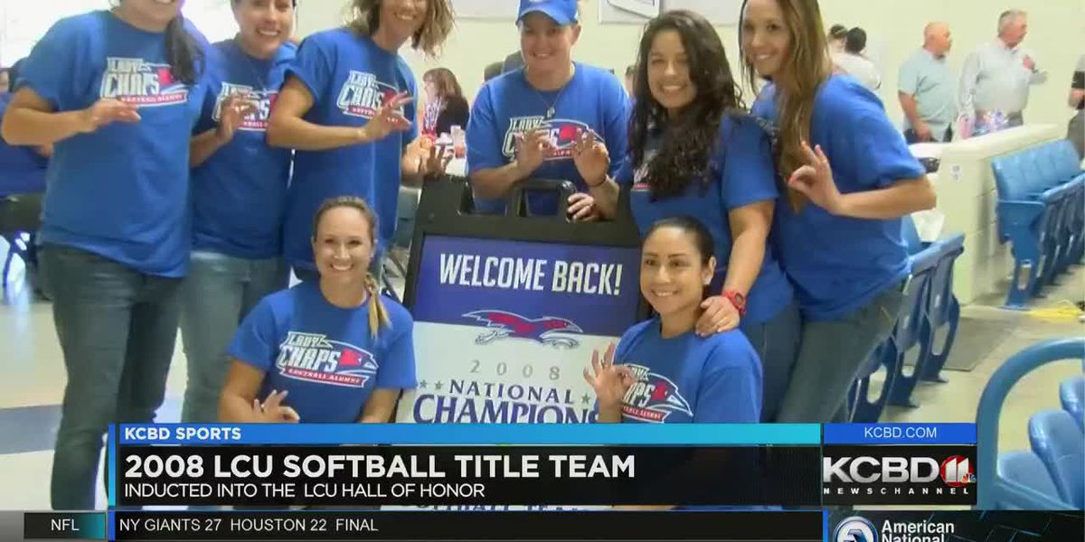 First LCU softball team inducted into Hall of Honor