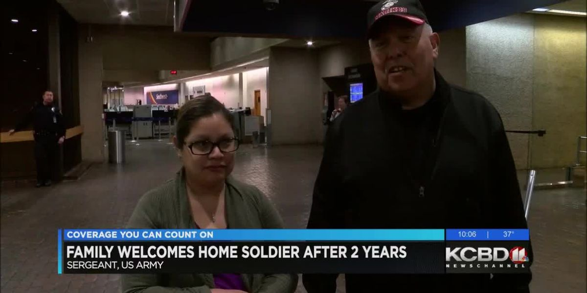 Lubbock soldier back home after 2 years