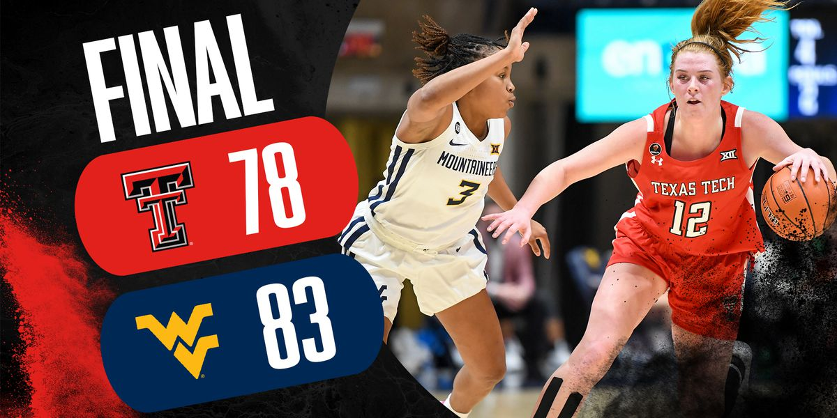 Lady Raiders come up short in West Virginia