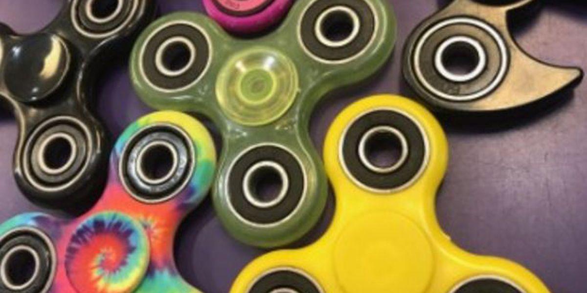 The fidget spinner still serves a purpose