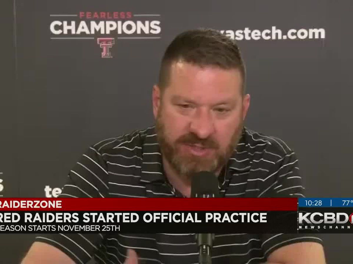 Red Raiders officially start basketball practice