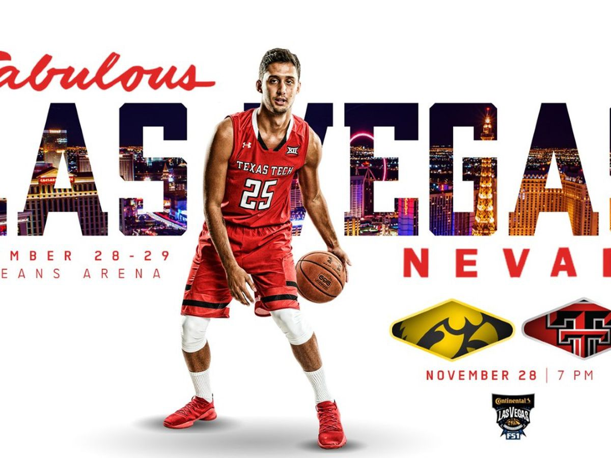 Red Raiders to play Iowa in Las Vegas