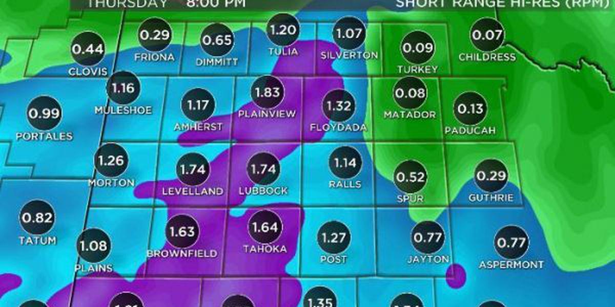 Watch for flash flooding as heavy rains return