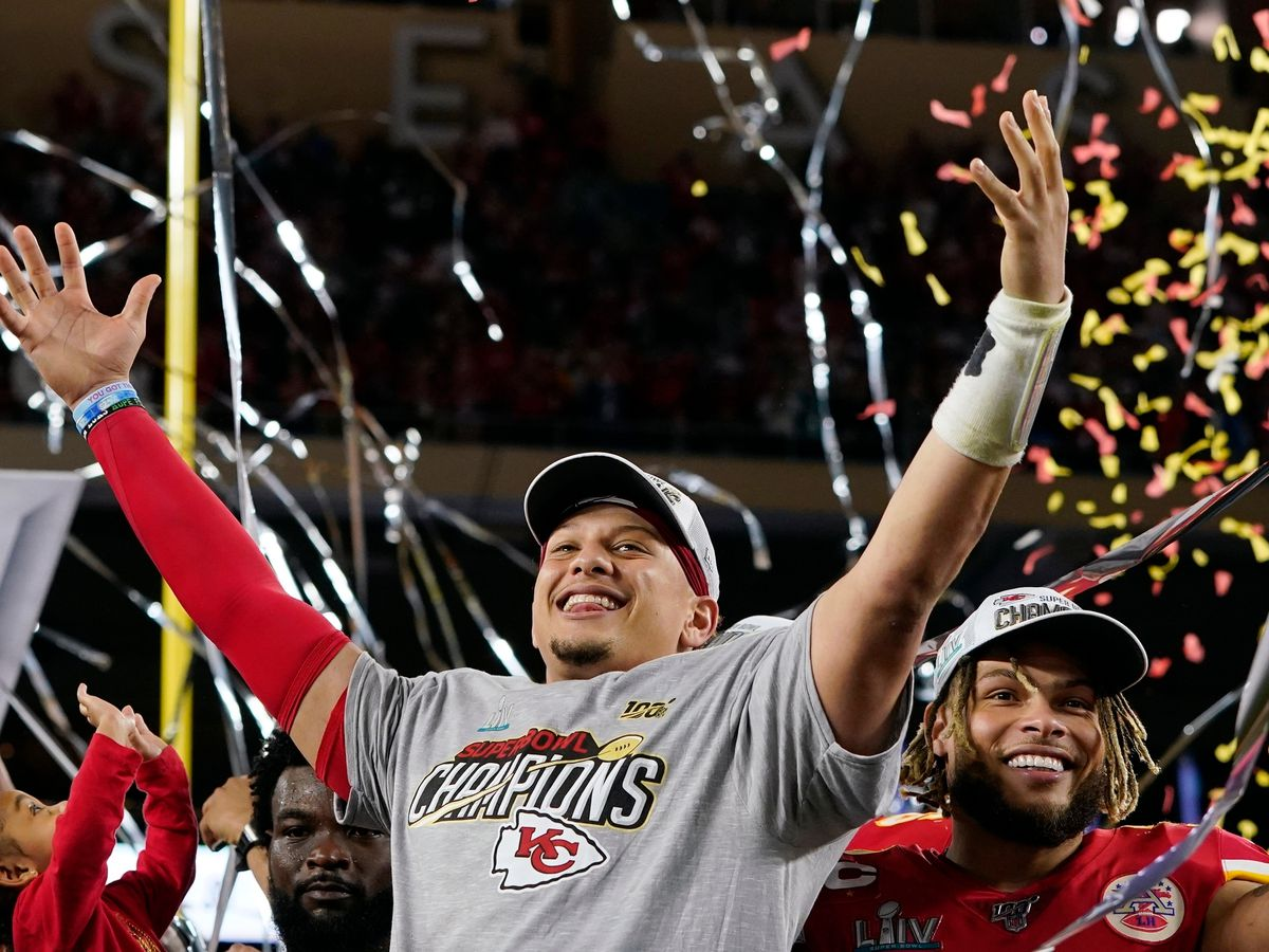 Watch: Patrick Mahomes and the Chiefs celebrate with Super Bowl parade
