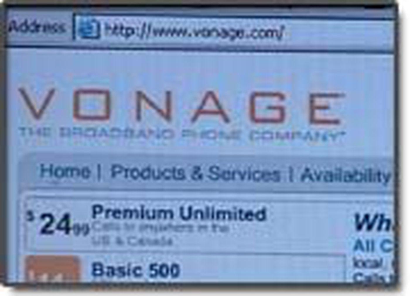 9 1 1 Concerns Prompt New Vonage Internet Phone System Test