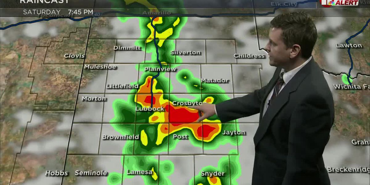 Isolated strong storms expected Saturday night