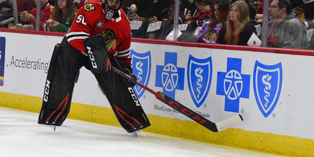 Blackhawks dealt another blow with Crawford's concussion