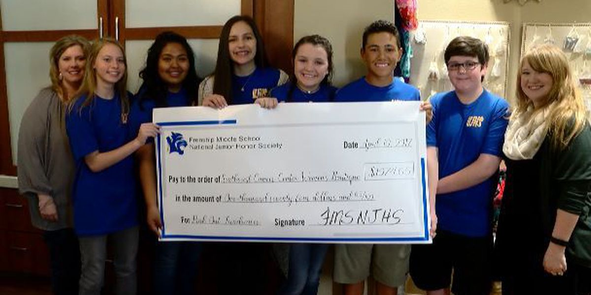 Frenship students donate money, hats to UMC's Cancer Boutique