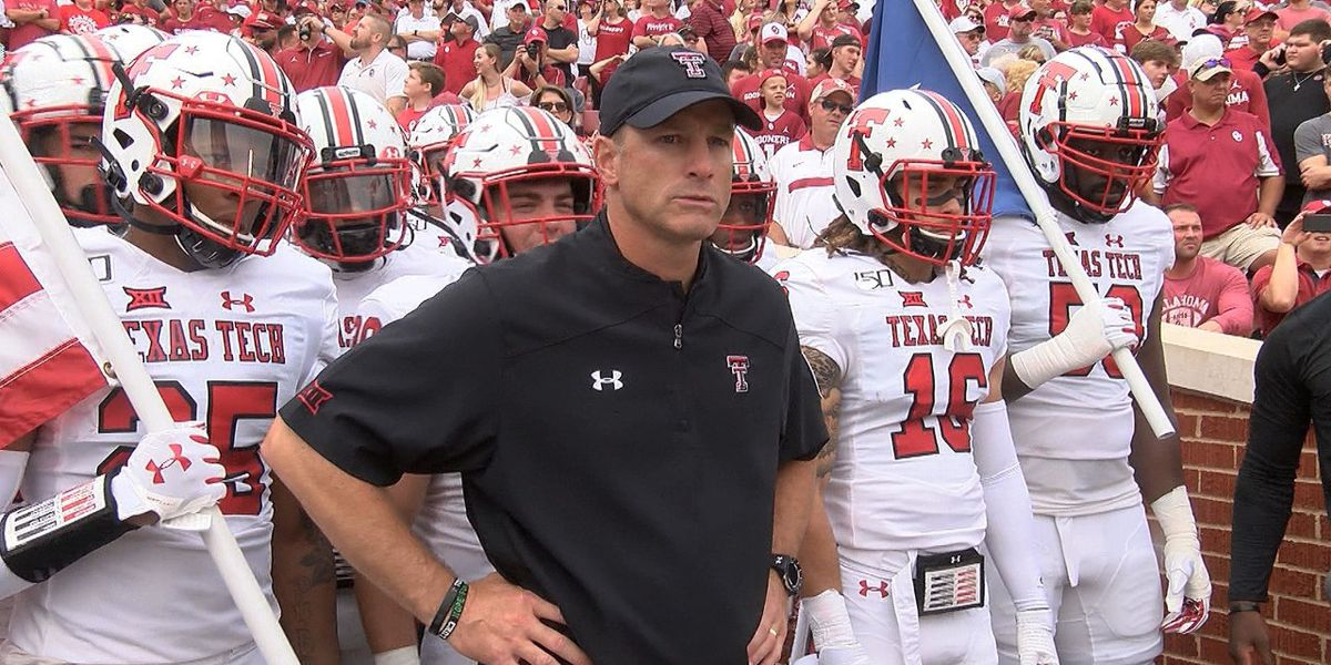 Big 12 announces kickoff time for Texas Tech at Baylor