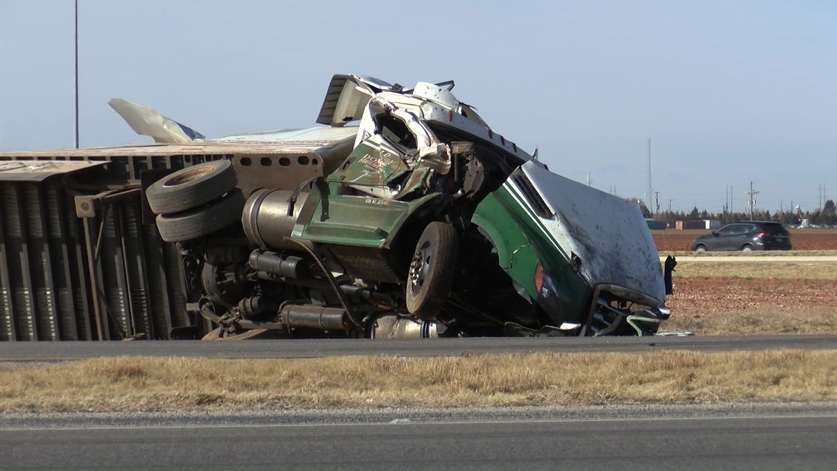 Lubbock police identify two men killed in freight truck collision