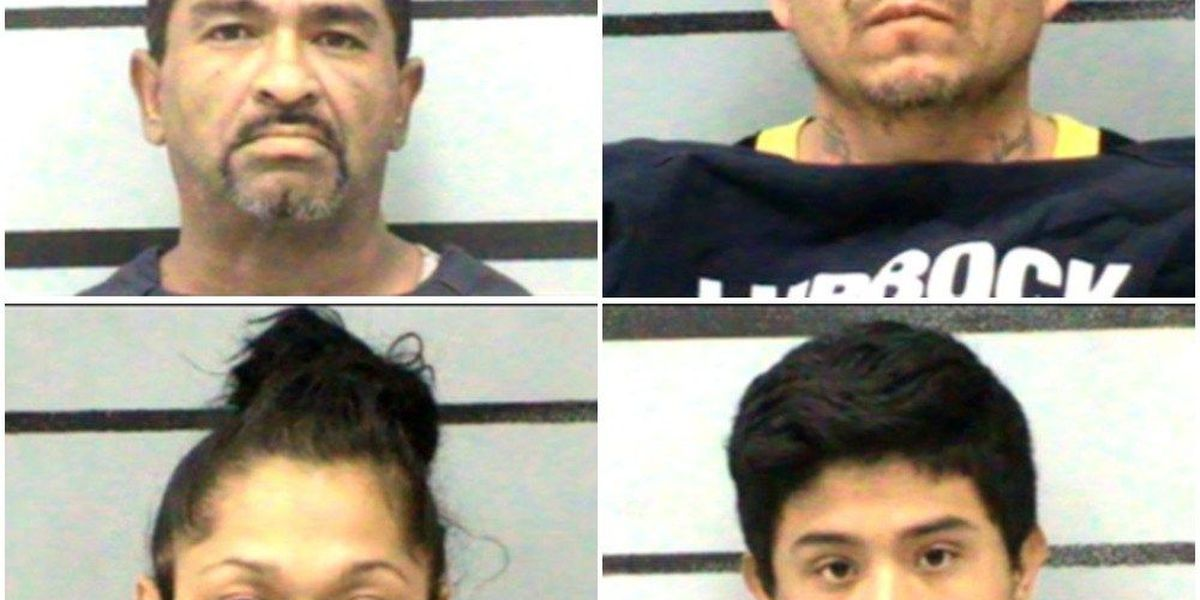 4 indicted by Lubbock grand jury, charged in vehicle theft case