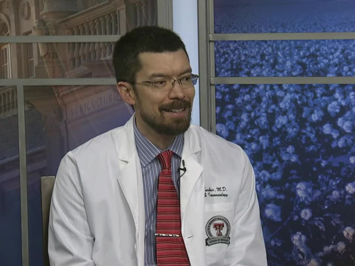 Healthwise: Dr. James Tarbox talks about winter allergies