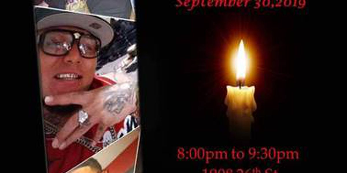 Candlelight vigil scheduled for victim of weekend shooting
