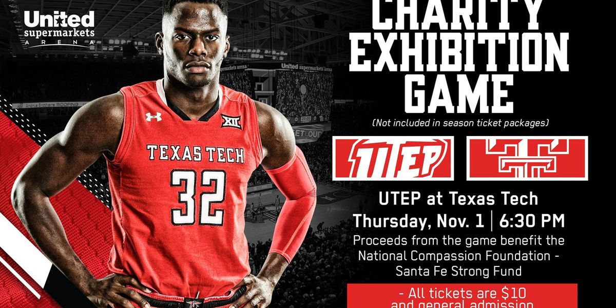 Tech men's basketball to host charity game against UTEP Thursday, proceeds to go to Santa Fe shooting victims