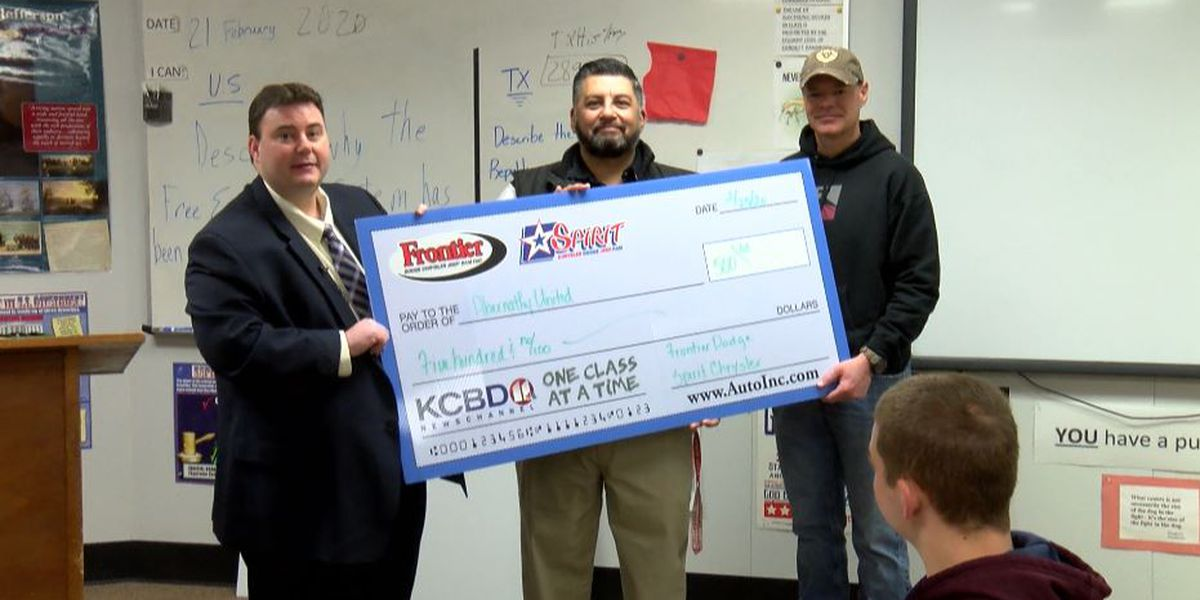 One Class At A Time: Abernathy Middle School teacher, Abernathy United awarded $500