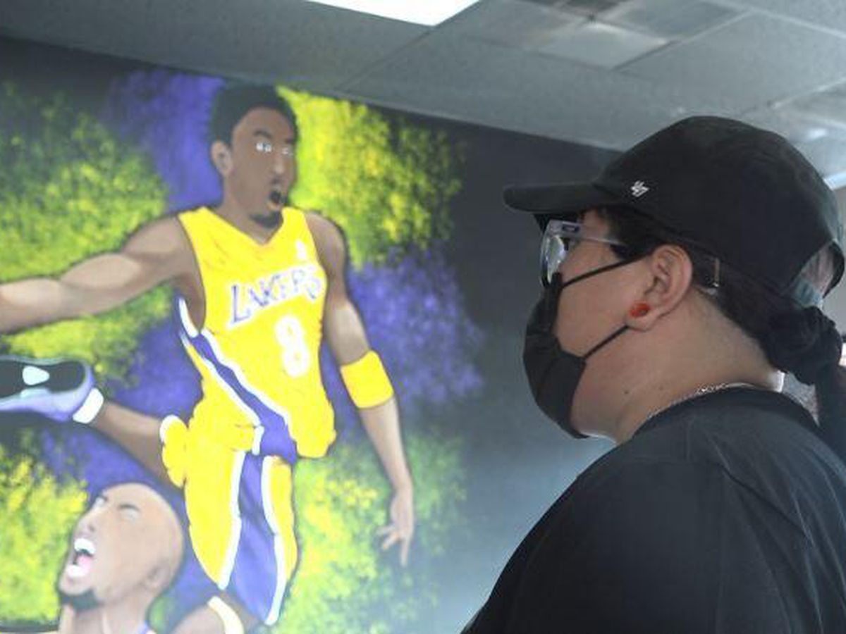 Lubbock business pays tribute to the late Kobe Bryant