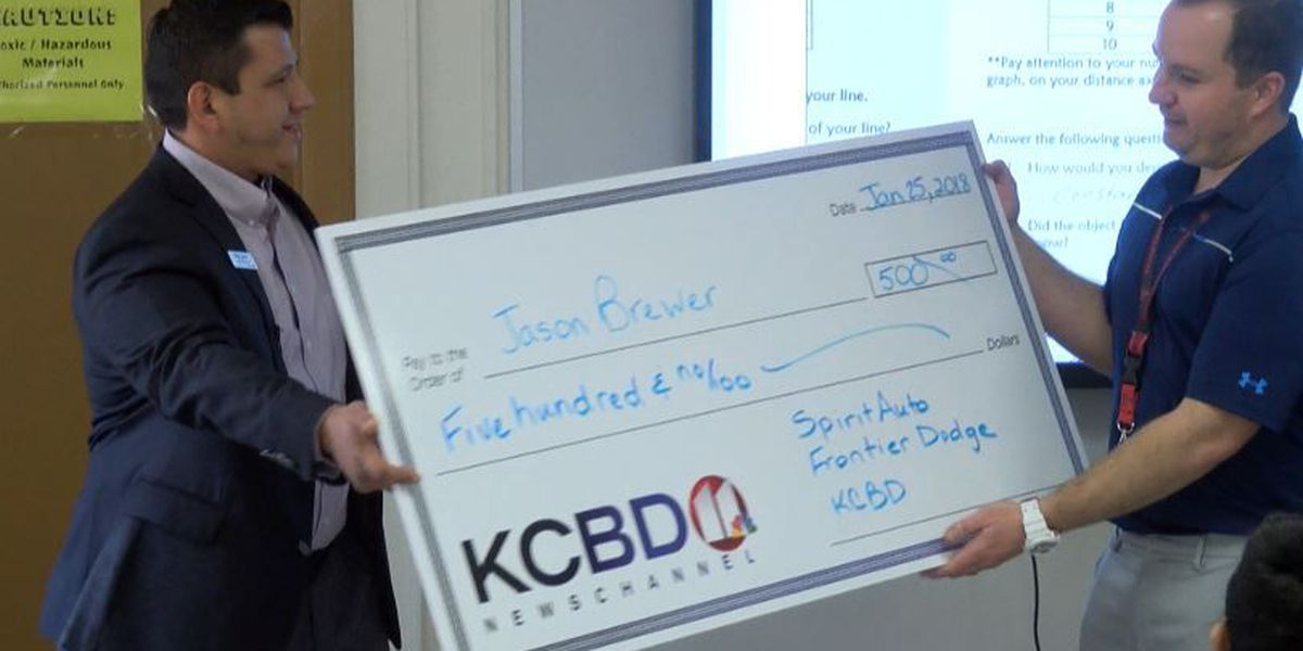 One Class At A Time: Hutchinson Middle School teacher, Family Promise awarded $500