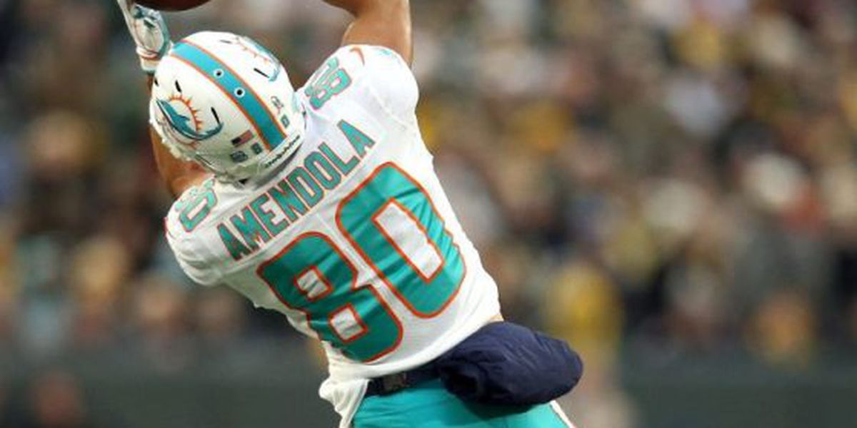 Miami Dolphins releasing former Red Raider Danny Amendola