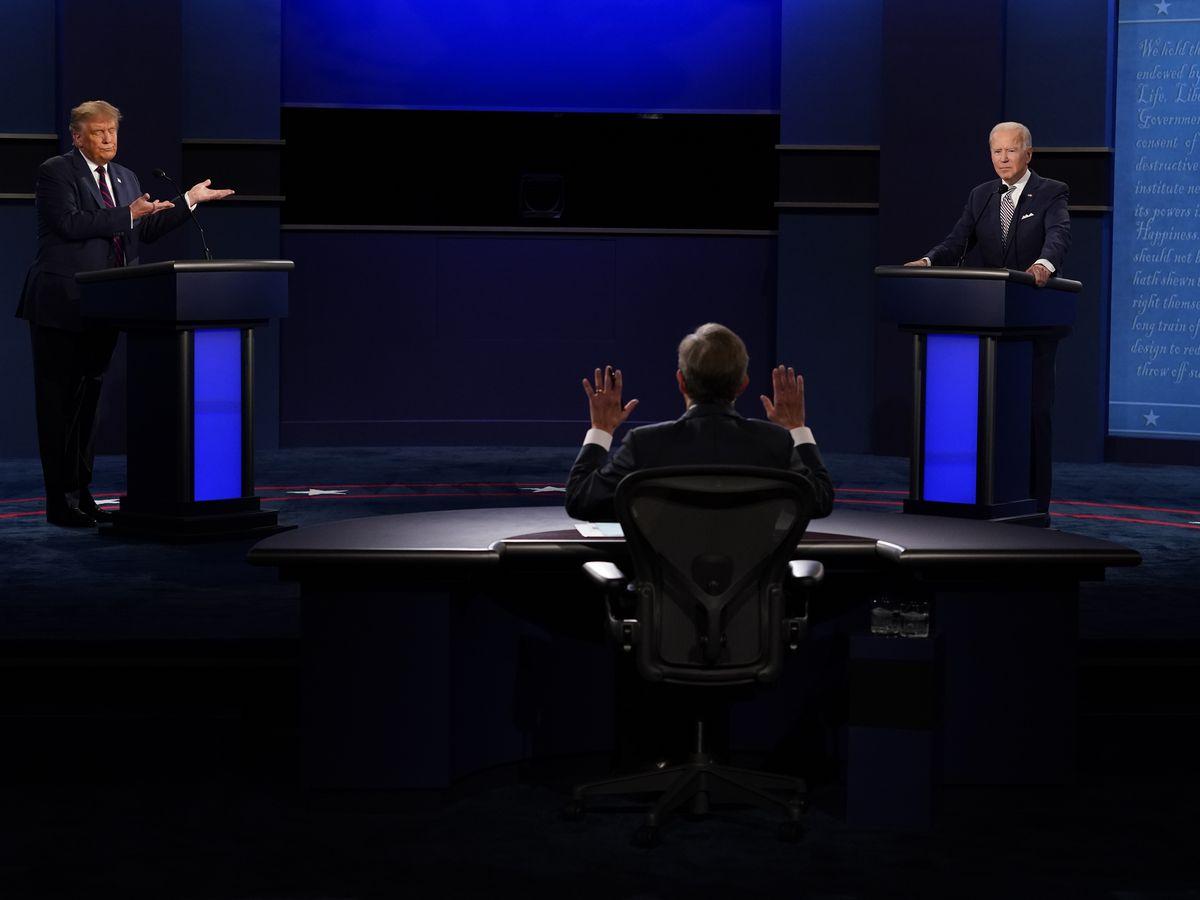 AP FACT CHECK: False claims flood Trump-Biden debate