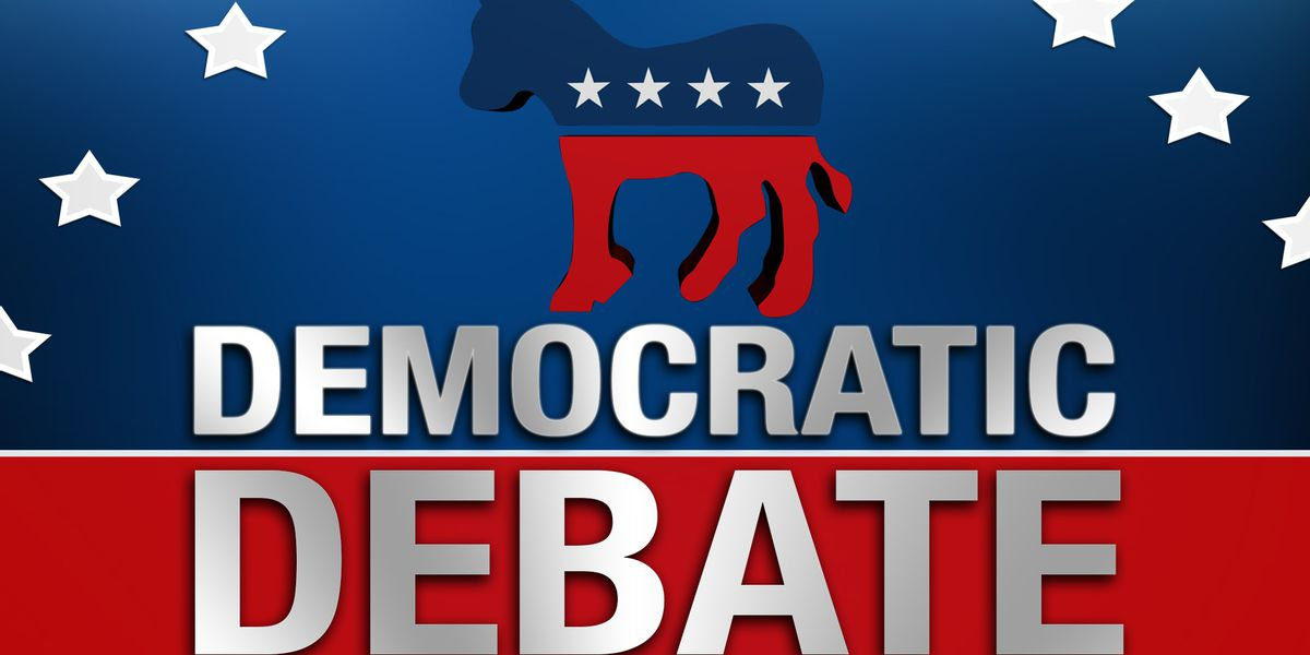WATCH LIVE: First 10 candidates square off for Democratic Primary debate