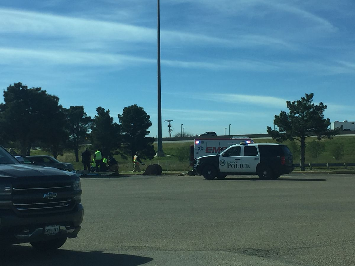 Avoid South Loop 289 between Slide, Spur 327 due to motorcycle crash