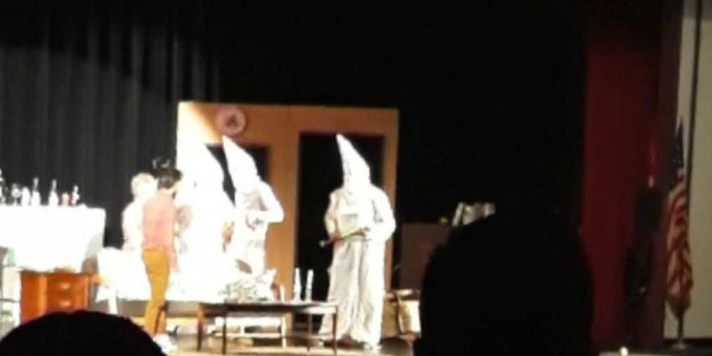 KKK costumes at high school play shock students and parents