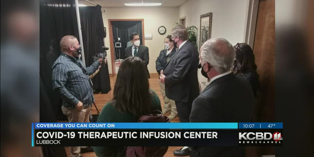 Lubbock establishes COVID-19 Therapeutic Infusion Center