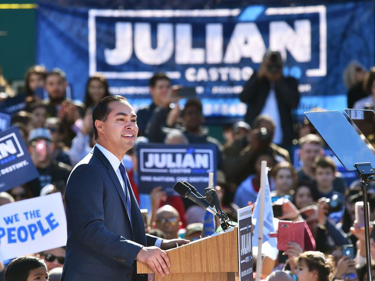 Julián Castro drops out of presidential race