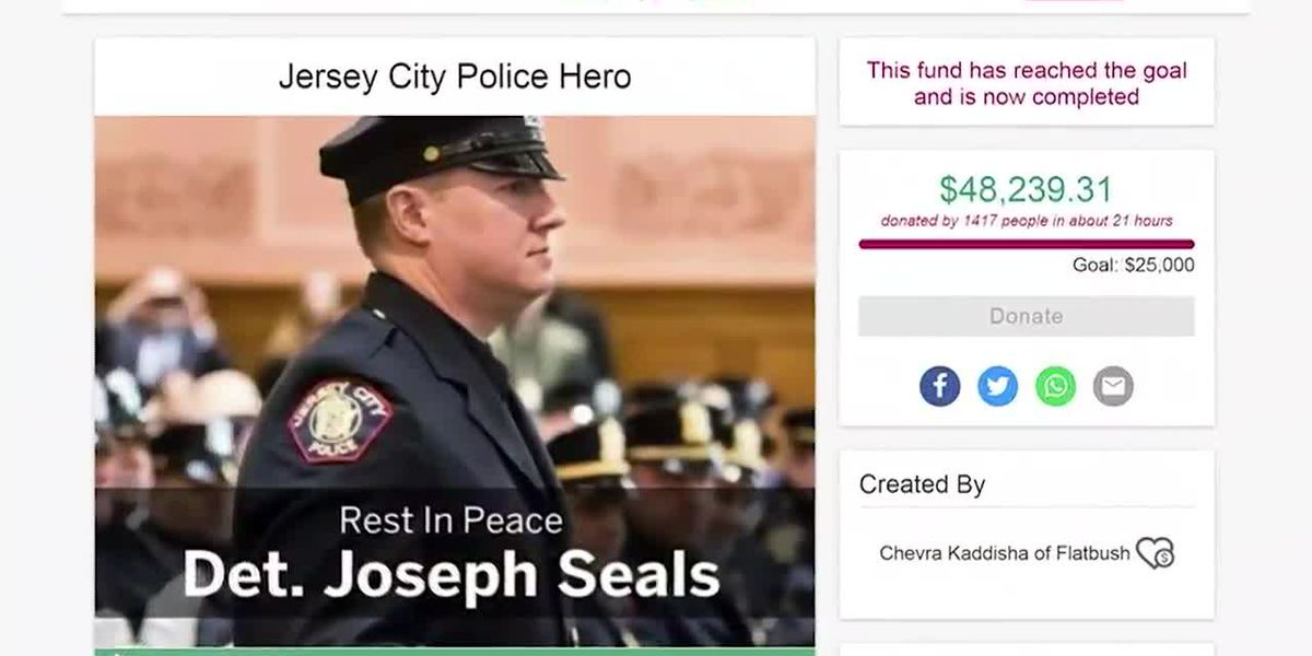 Nearly $50K donated to family of detective killed