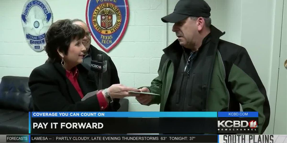 Pay It Forward: Helping a Texas Tech police officer