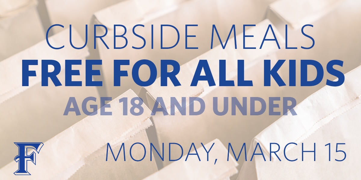 Frenship ISD offering free curbside meals to any child 18 and younger