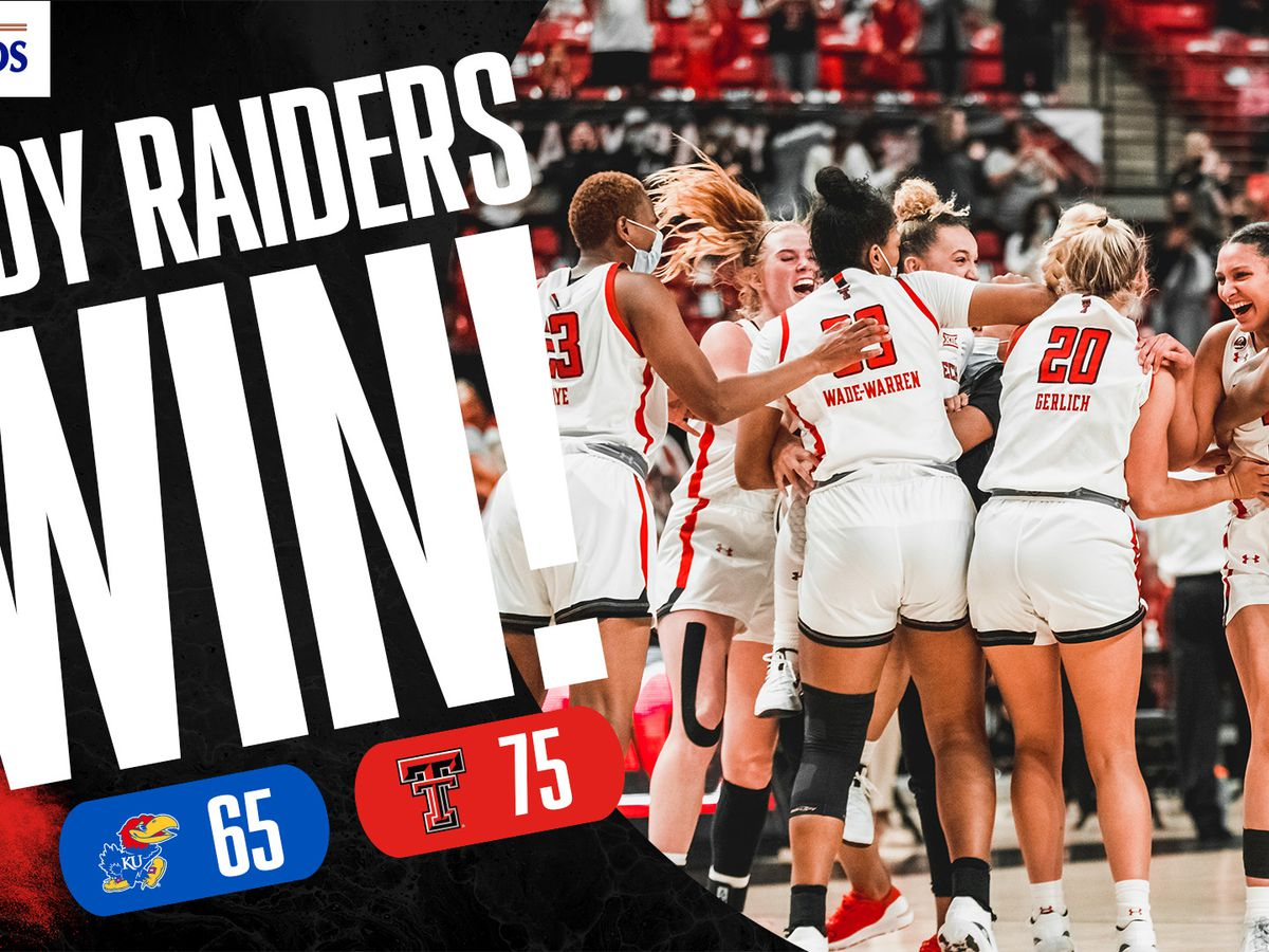 Lady Raiders get road win at Kansas