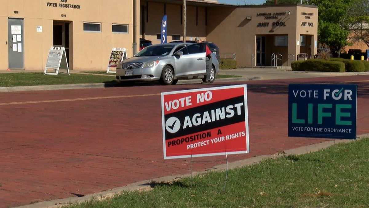 Special election propositions send Lubbock voters to cast early ballots