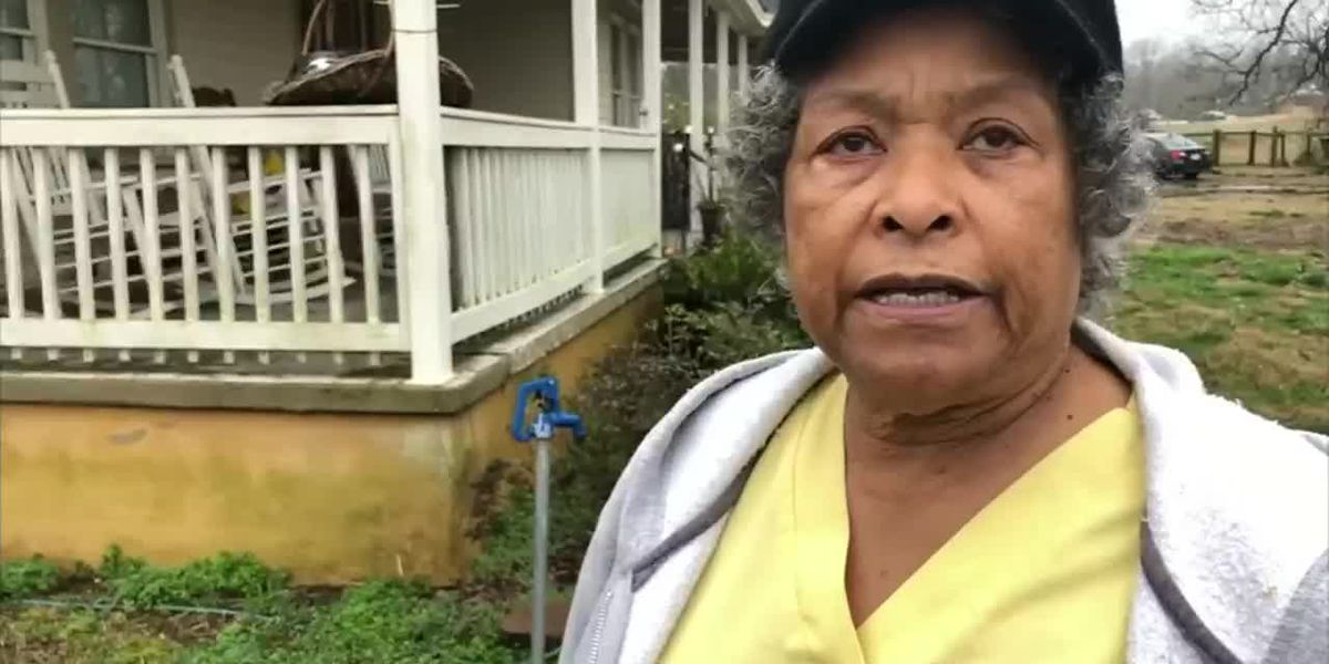 'I'll blow your (expletive) brains out' great-grandmother said to intruder