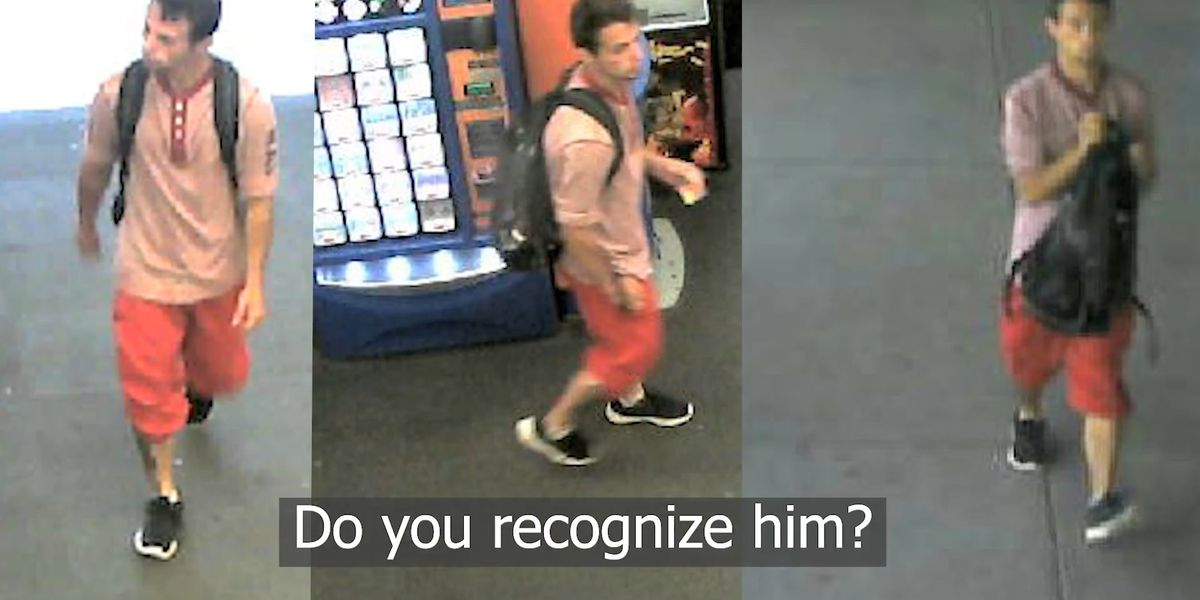 WANTED WEDNESDAY: Police searching for man who used stolen debit cards