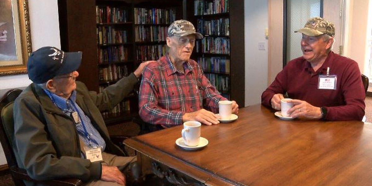 Lubbock veterans visit other veterans in hospice to provide comfort and encouragement