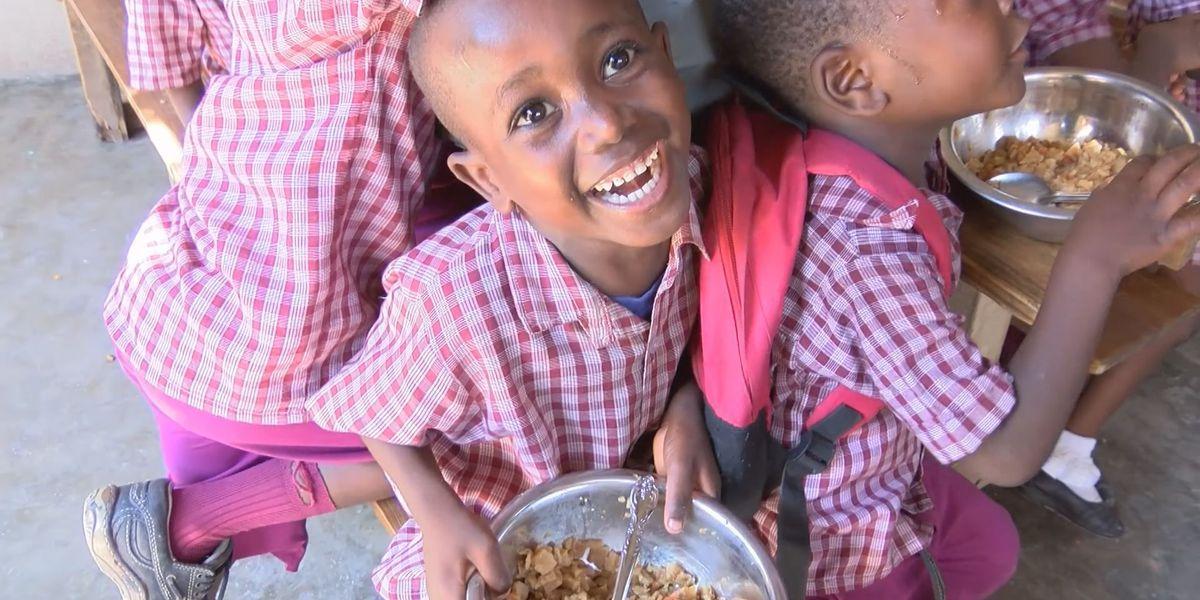 Hope 2 Haiti feeding 1,500 school children with donations sent from Lubbock