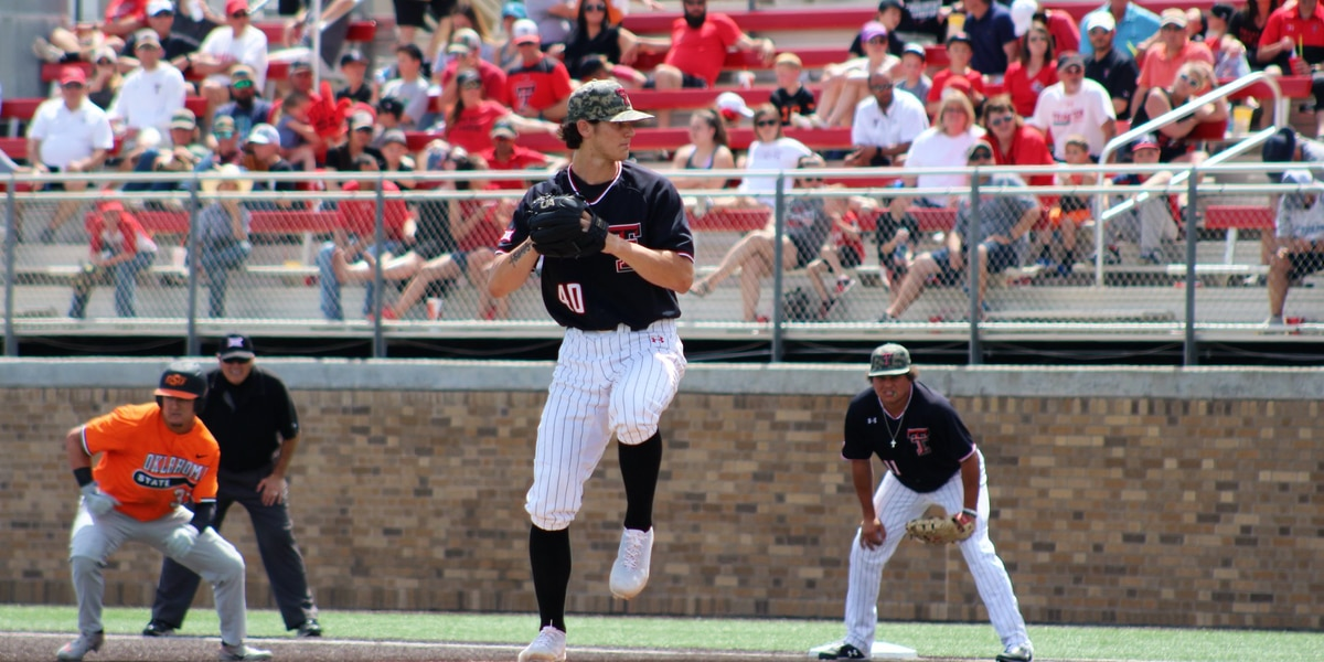 No. 15 Texas Tech Baseball sweeps No. 16 Oklahoma State