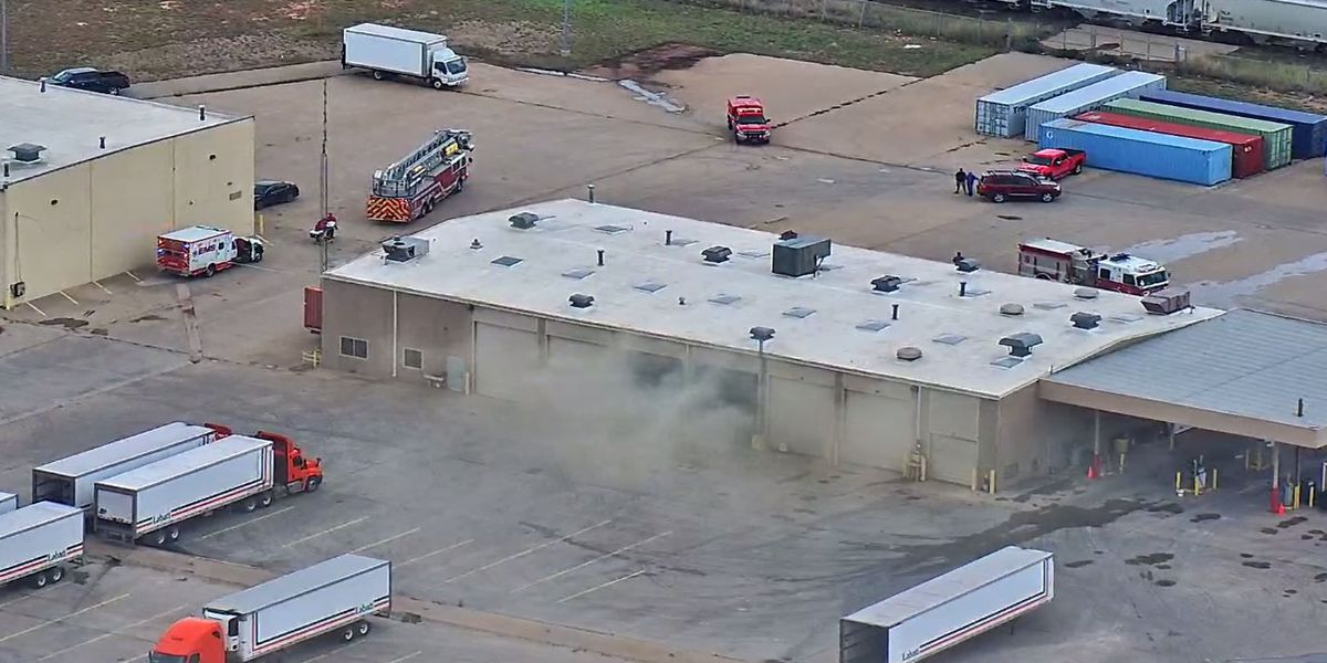 Firefighters respond to fire at Labatt Food Services
