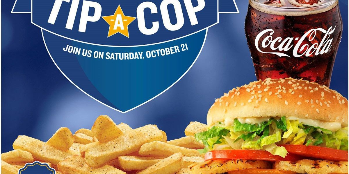 Tip A Cop event to be hosted at Red Robbin