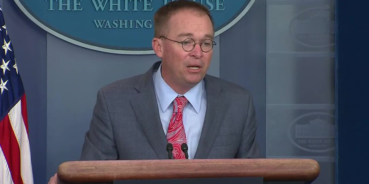 Mulvaney on Ukraine and quid pro quo