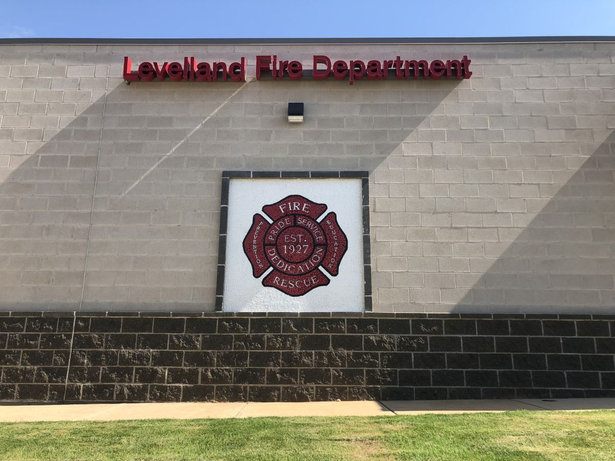 Flags stolen from Levelland Fire Department