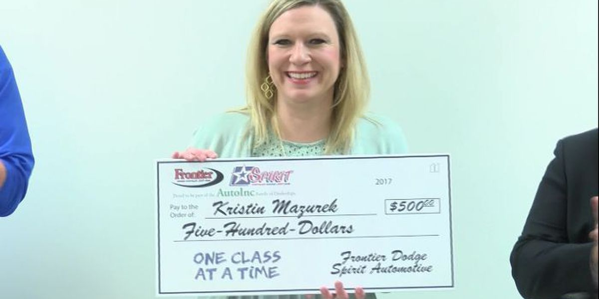 One Class At A Time: Terra Vista Middle School teacher, Literacy Lubbock awarded $500