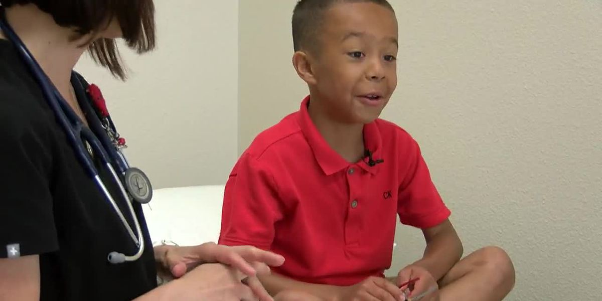 Robert 'Bubba' Johnson: 'I want to be a doctor... because they help me'