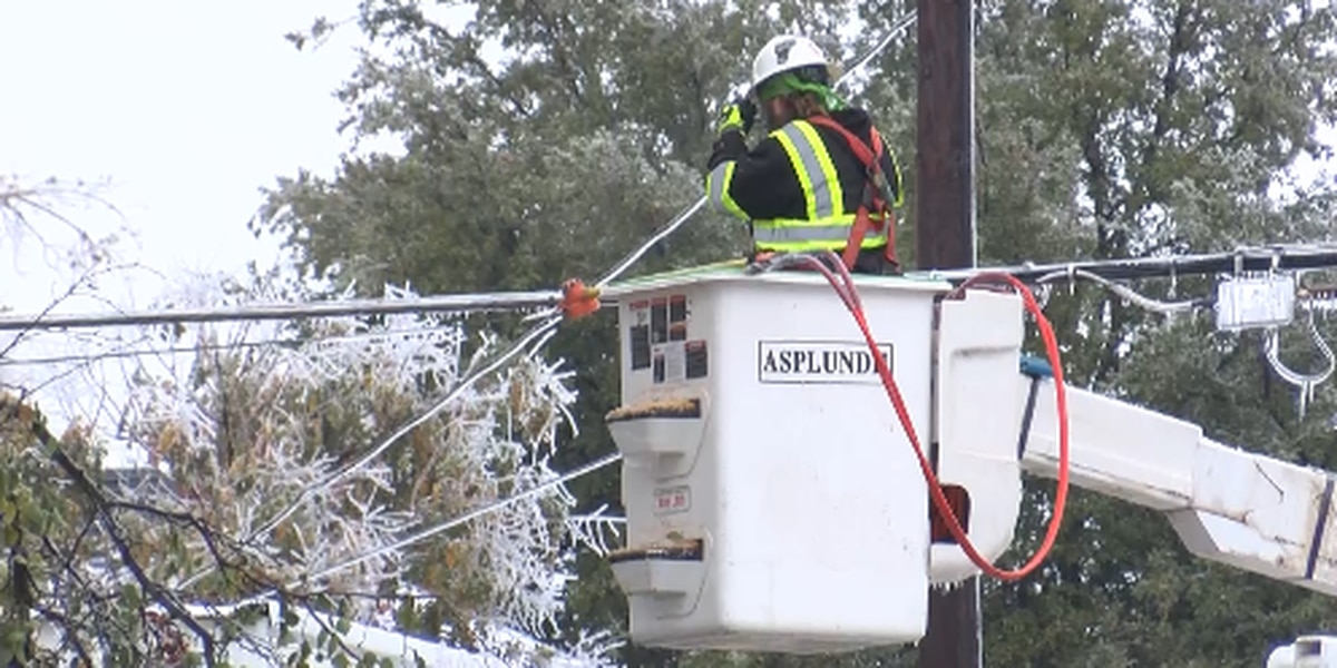 Crews working around the clock to restore power