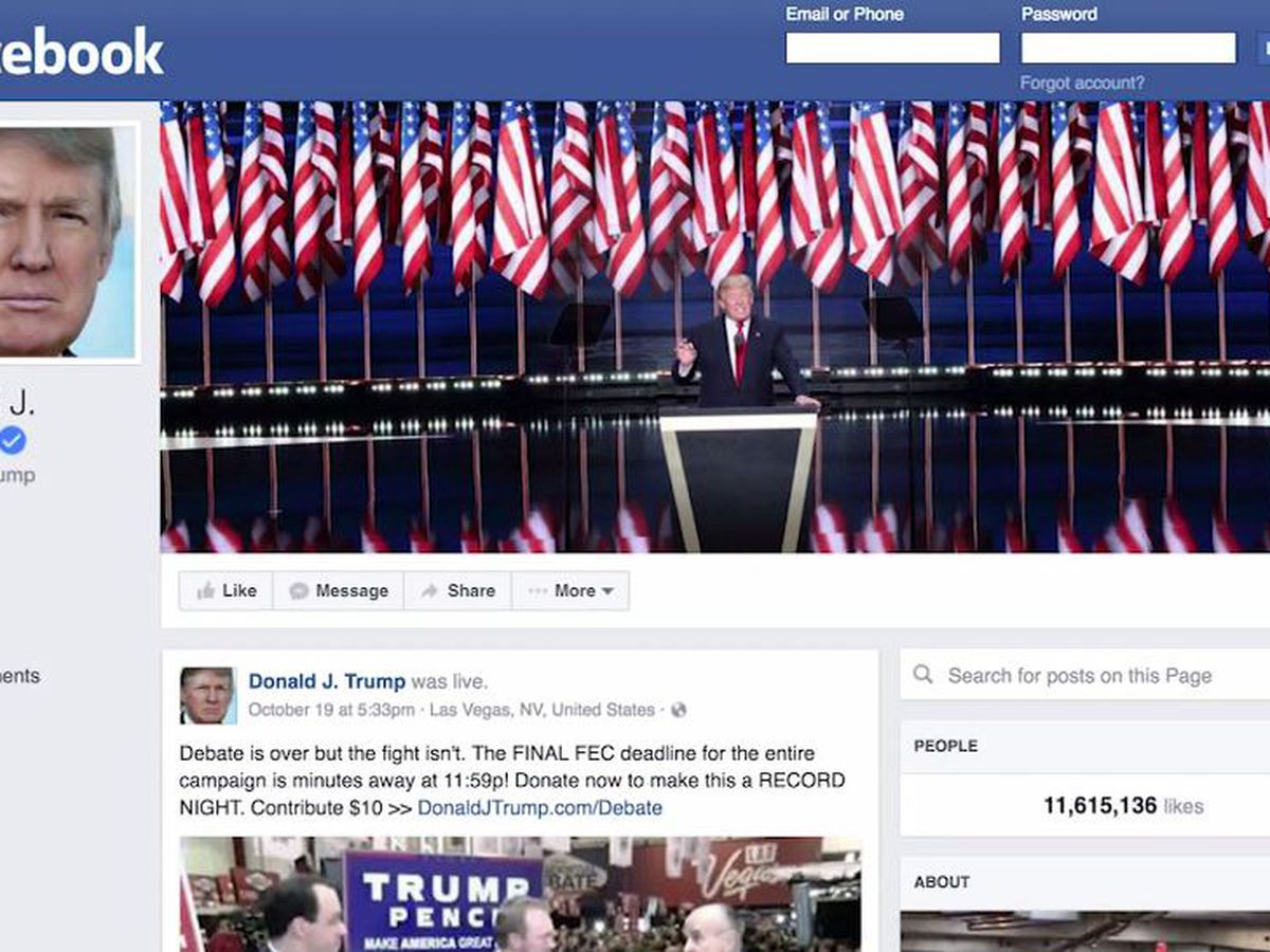 Facebook board upholds Trump ban, just not an indefinite one